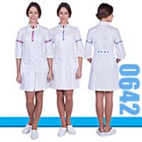 Women's lab coat 0642 from a new collection