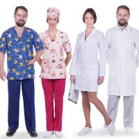 Style in medical clothes