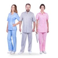 What is the name of medical clothes?