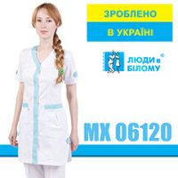 Women's lab coat MX 06120 from a new collection