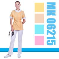 Women's medical blouson MK 06215 from a new collection